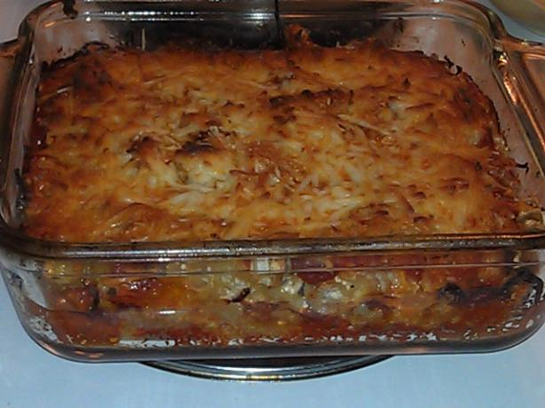 Simple Cheesy Baked Ziti