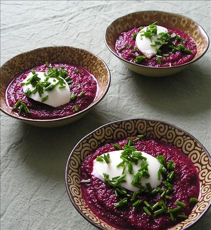 Chilled Beet & Celery Soup