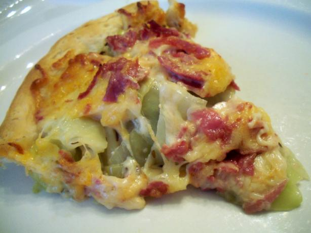 Corned Beef and Cabbage Bake