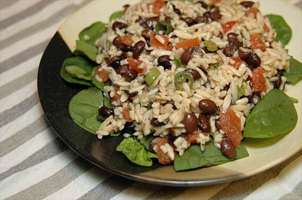 Black Bean-Orzo Salad