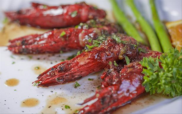 Garlic & Chili Prawns