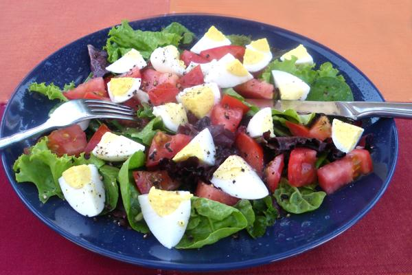 Nemo's Egg and Tomato Salad