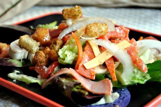 Italian Chef Salad Bread Bowl