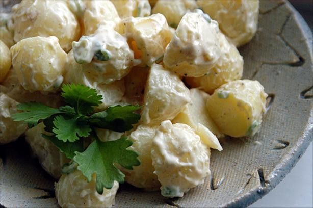 Garlic Potato Tapas