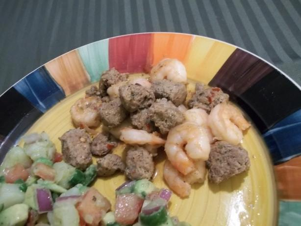 Shrimp and Chorizo Saute