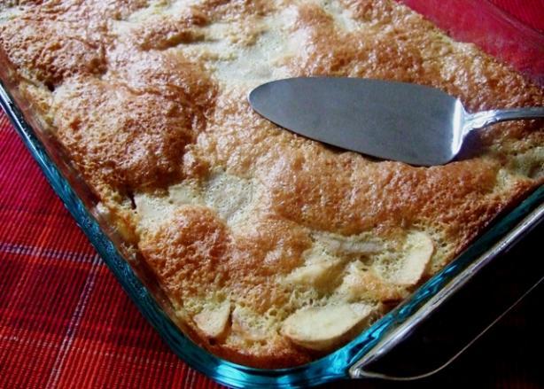 Apple and Cinnamon Sponge Pudding