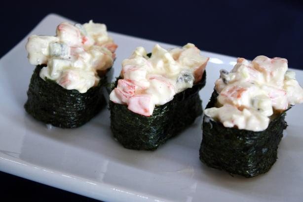 Special Shrimp Gunkanmaki - Battleship Sushi Roll