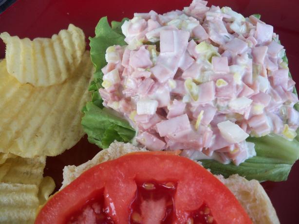 Ninja Ham Salad