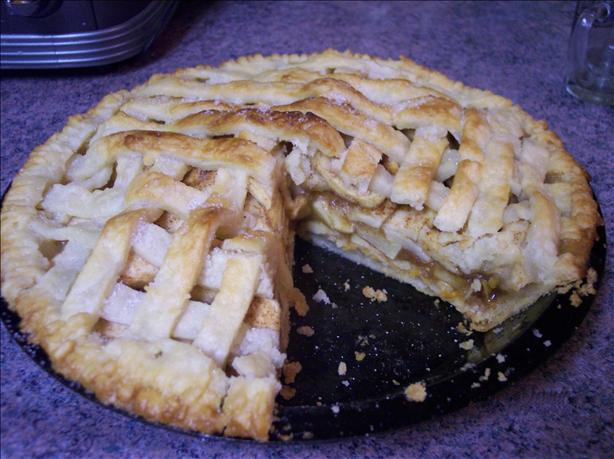 Apple and Cheese Pie