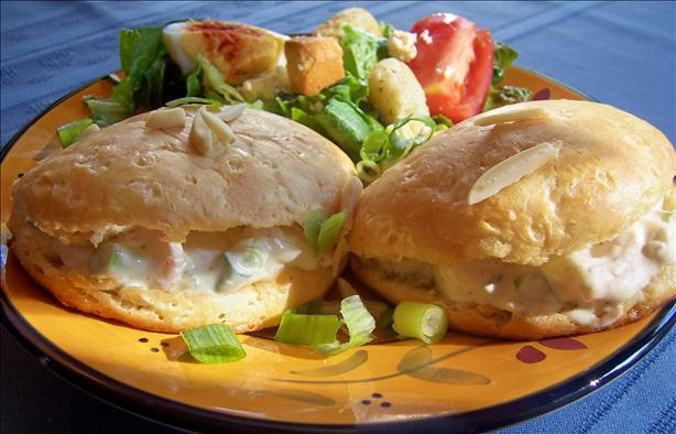 Shrimp Salad Pita-Whiches