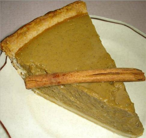 The Best Pumpkin Pie ever