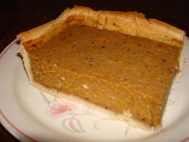 Auntie's Pumpkin Pie