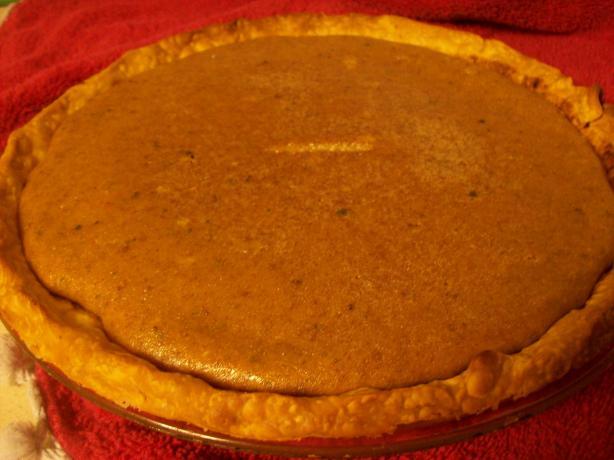 Mom's Pumpkin Pie