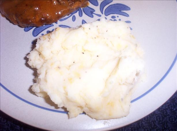 Classic Mashed Potatoes W/ Less Fat!