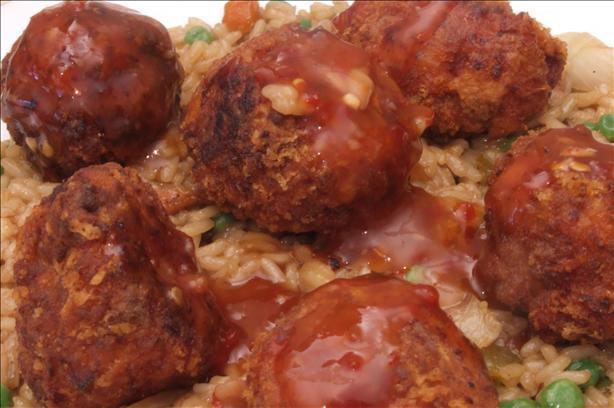 Haitian Style Meatballs