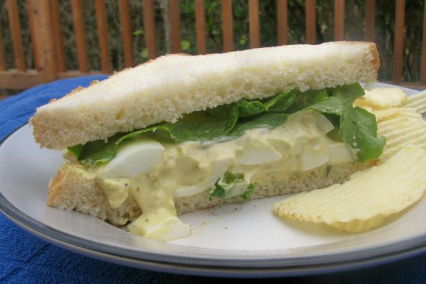 Helen's Egg Salad Sandwiches