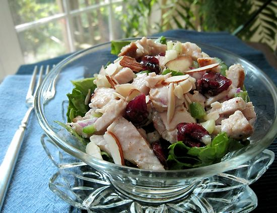 Pork Salad Sandwiches With Maple Dijon Dressing