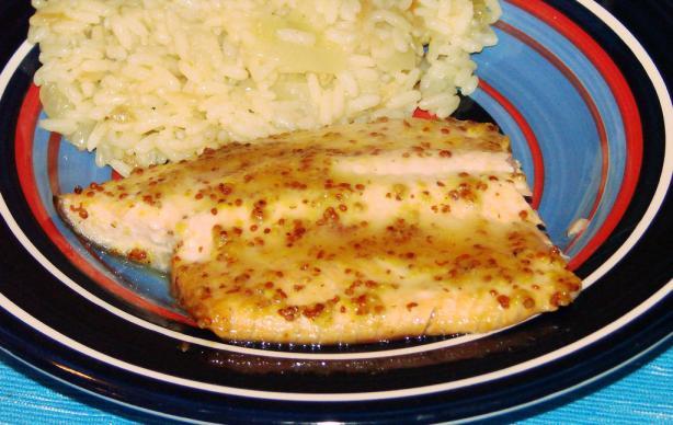 Maple Glazed Salmon Fillets
