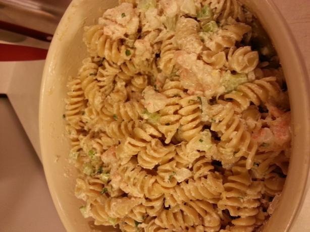 Linda's Seafood Pasta Salad