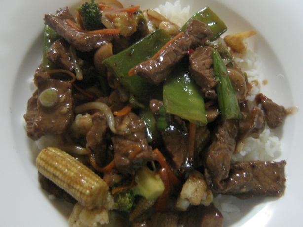 Marinated Beef Stir Fry