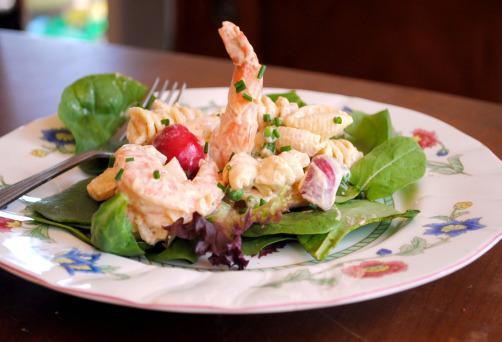 Creamy Seafood Pasta Salad