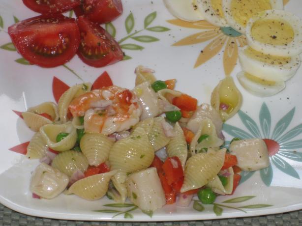 Pasta Seafood Salad