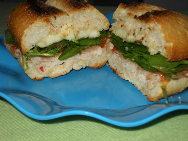 Sweet Hot Turkey and Brie Sandwich