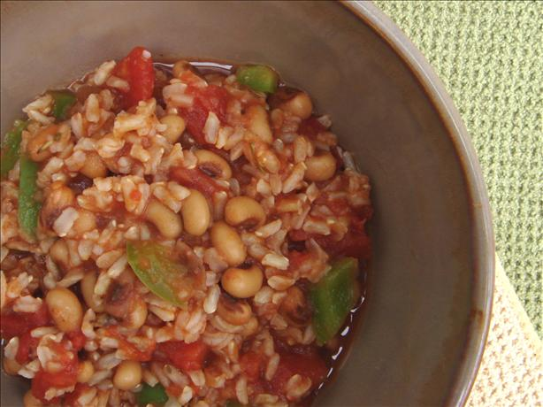 Spicy Black-Eyed Peas and Rice