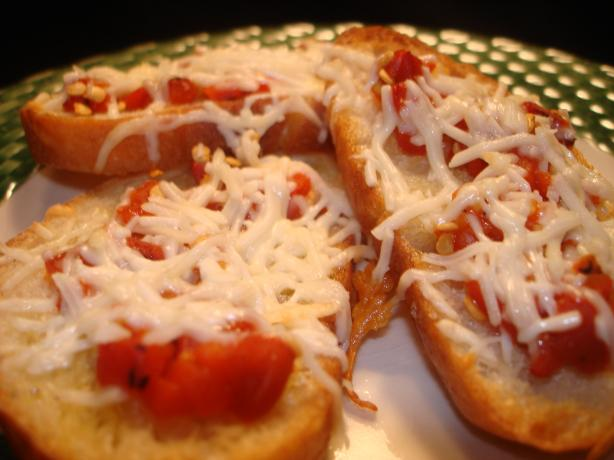 Roasted Red Pepper Toasts