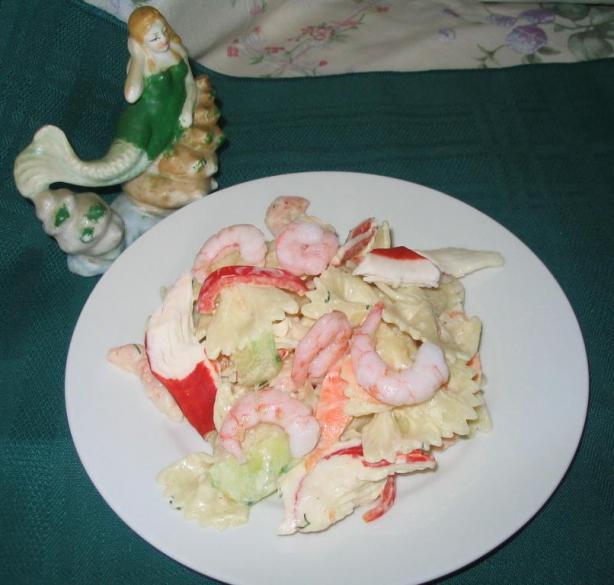 Yummy Seafood Pasta Salad