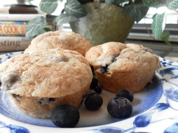 Bisquick Blueberry-Banana Muffins