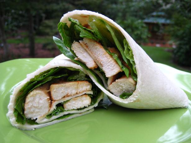 Spicy Buffalo Chicken Wraps