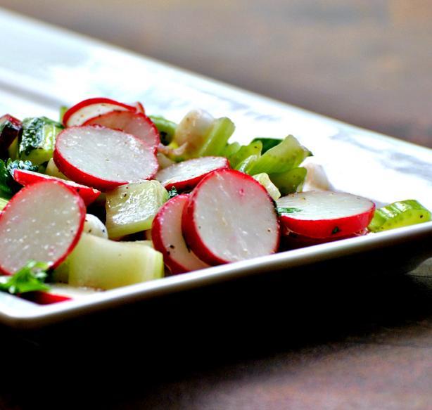 Celery and Radish Salad