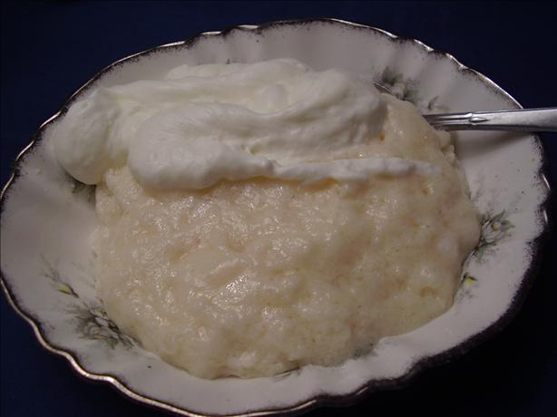 Tapioca Custard Pudding