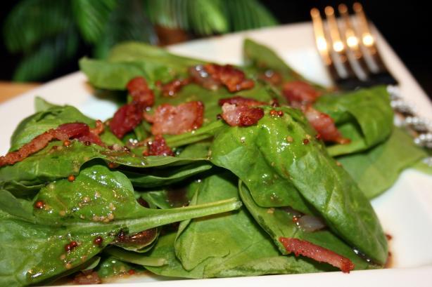 Warm Bacon Vinaigrette