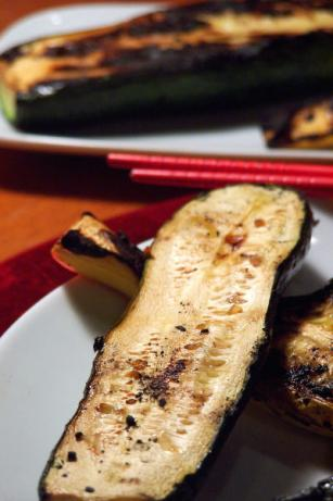 Grilled Thai Marinated Summer Squash