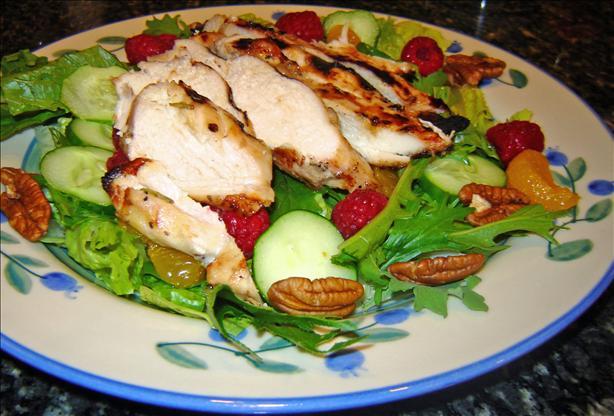Grilled Raspberry Chicken Salad