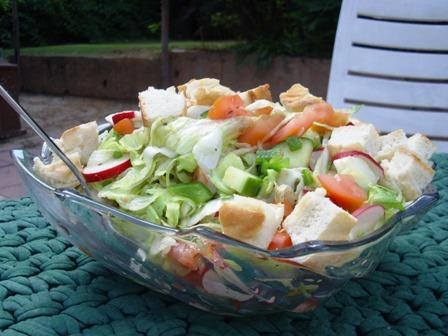 Fattoush - Toasted Bread Salad