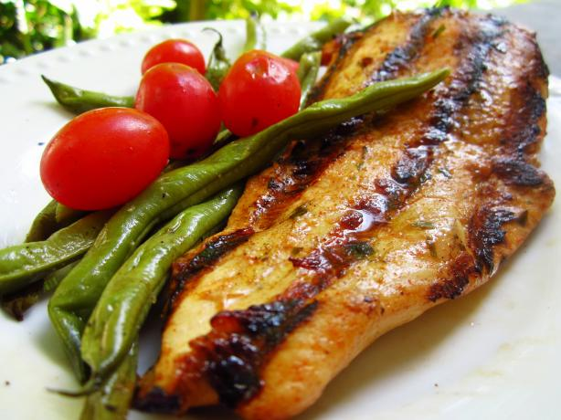 Spanish Grilled Chicken Breasts