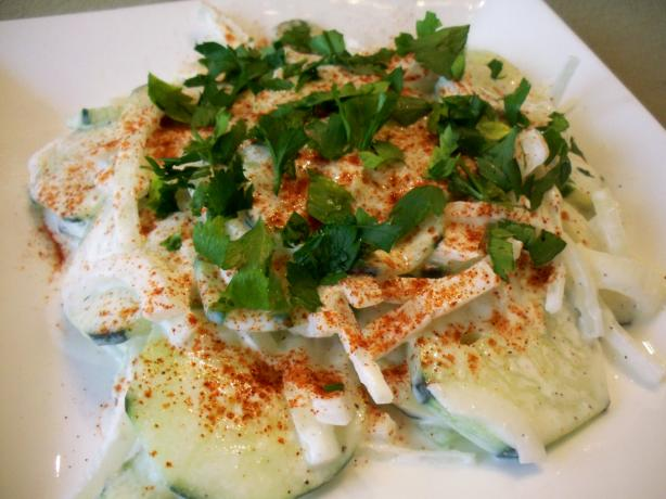 Gurkensalat [cucumber Salad]