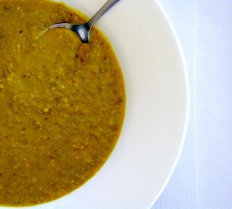 Indian Lentil Soup (Dal Shorva)