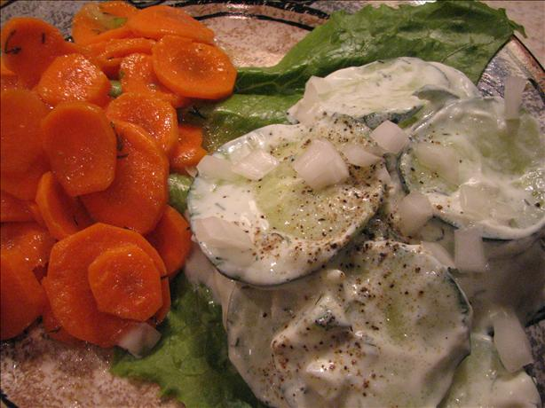 Gurkensalat (Cucumber Salad)