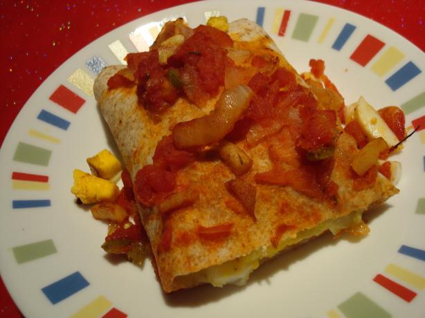 Egg and Green Chile Enchiladas