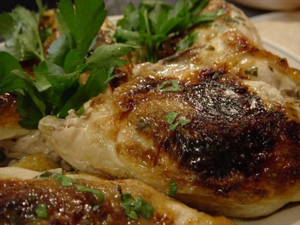 Garlic Lemon Chicken Breasts