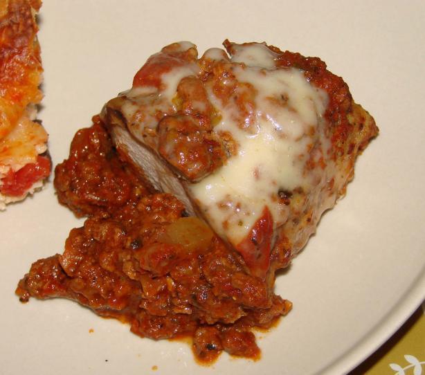 Pork Tenderloin Parmigiana