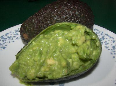Chunky Green Guacamole
