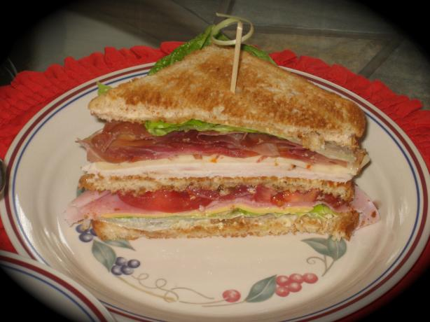 Kittencal's Classic Club Sandwich