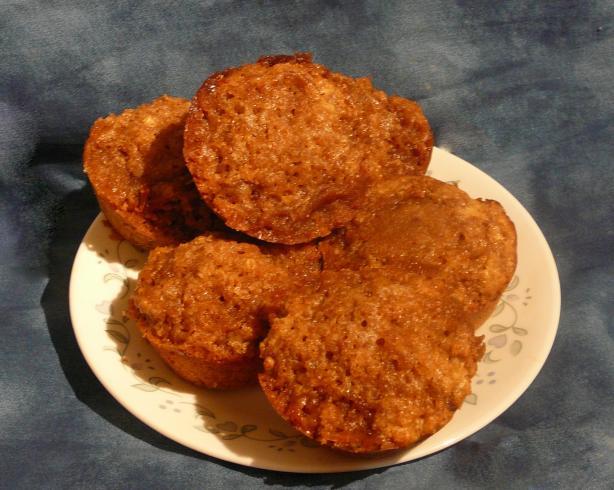 Three Grain Muffins (W/ Grape Nuts Cereal)