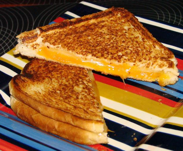 Double- Decker Grilled Cheese Sandwiches