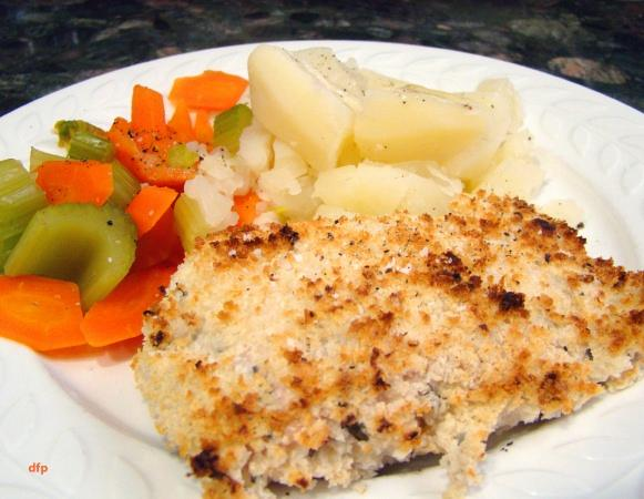 Horseradish Crusted Salmon Fillet